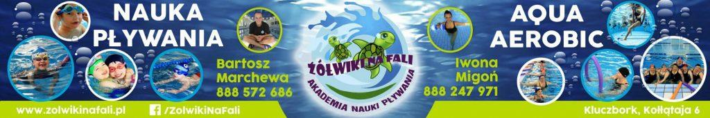 akademia nauki plywania żółwiki na fali